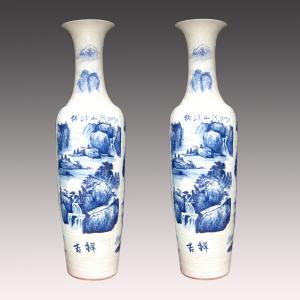 jingdezhen big ceramic flower vase supplier Manufactures