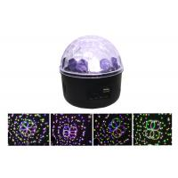 New 500 Patterns Mp3 Led Magic Ball Light Sound Auto (Infrared Remote Control) 6w Led Manufactures