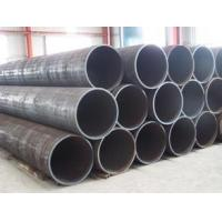 Round Carbon Steel Hot Rolled Seamless Pipe API ASTM A53 ERW For Transportation Manufactures