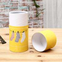 Buy cheap Cardboard Cylinder Paper Box Packaging Round / Customized Shape 350g from wholesalers