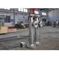 China BOCIN SS 304 Stainless Steel Pipeline Liquid Mixing Static Inline Mixer For Mediun Viscosity on sale