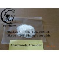 China Oral Anastrozole /Arimidex CAS 120511-73-1  raw powder 99% purity for gain muscle on sale