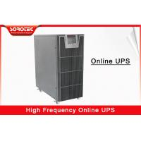 6KVA 5.4KW High Frequency Online UPS Large LCD display and Intelligent Battery Monitors Manufactures