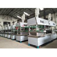 Semi-automated Pulp Molded Food Grade Tableware / Dinnerware Forming Machine Manufactures