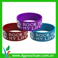 Quality 2012 Promotional Cheap Sports Silicone Bracel Fashionable Silicone Bangle Silicon Bands for sale