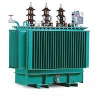 Three Phase Oil Immersed Transformer , S11 Oil Filled Industrial Power Transformer Manufactures