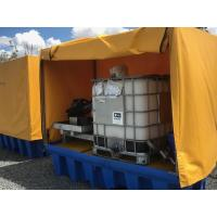Heavy Duty IBC Spill Containment Drum Platform For Oil Drum / Chemical Drum Manufactures