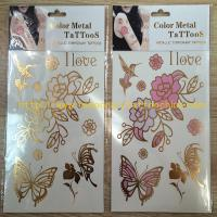 Flower Design Wholesaler Temporary Tattoo Sleeves Pink Manufactures