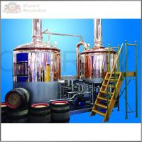 500L stainless steel ss304 microbrewery equipment for sale with steam heating mash tun and lauter tun Manufactures