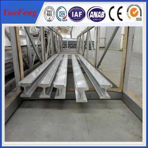 Meticulous anodized aluminum extruded profile, OEM silver oxidation aluminum profile Manufactures