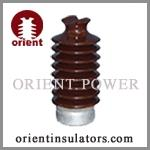 Brown color porcelain line post insulator Manufactures