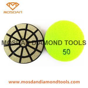 Transitional Diamond Ceramic Bond Abrasive Pads for Concrete Floor Manufactures
