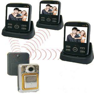 China 1V3 Wireless Peephole Video Intercom Door phone with hands free on sale