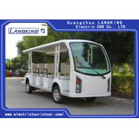 White Colour 2 seats + 2 Rows 72V Electric Ambulance Car For Emergency Closed Type Manufactures