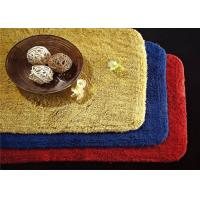5 Star Custom Embossed Hotel Bath Mats , Hotel Style Collection Bath Mat Manufactures