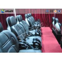 Small 5D movie theater Realistic action effects cinema with motion chair Manufactures