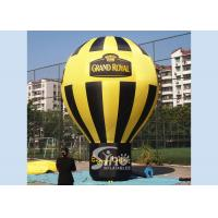 China Outdoor Grand Open Roof Top Large Inflatable Balloons Personalized , EN14960 Standard on sale