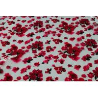 China Floral PVC White Printed Table Cloth on sale