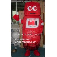 M1 box mascot costume/customized fur product replicated mascot costume Manufactures