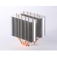High efficient Computer CPU Heatsink / Copper Pipe Heat Sink with Skiving Fin Manufactures