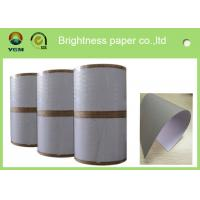 Thick One Side Coated Board Paper White Regular Size 700 X 1000mm Manufactures
