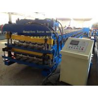 Double Layer Roll Forming Machine for roof or wall panels Manufactures