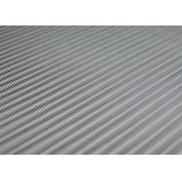 Large Loop 100 Polyester Mesh Fabric Spiral Link 4070  For Food Stuff Processing Manufactures