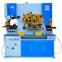 Industrial Grade Q35Y Hydraulic Iron Worker Universal Ironworker Equipment Manufactures