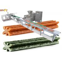 China Smart Auto Meat Strip Traying System For Meat Strips / Dog Treats Processing on sale