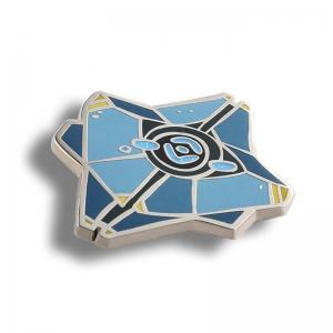 China Fancy hot sale enamel metal customized logo metal pin badge on sale
