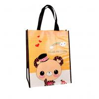 Durable Non Woven Shopping Bag Laminated Various Color Trade Show Packaging Manufactures