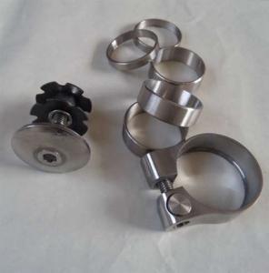 grade 2, grade 5.mountain bike titanium parts