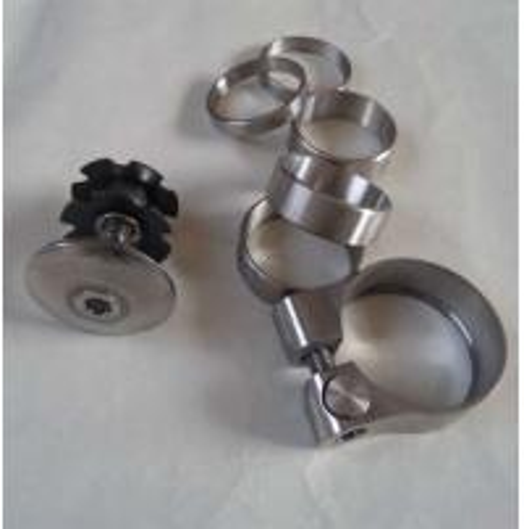 Quality grade 2, grade 5.mountain bike titanium parts for sale