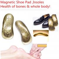 China Magnetic Therapy Magnet Health Care Foot Massage Insoles Magnetic insoles medical shoe pads health of bone,foot massager on sale