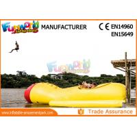 0.9mm PVC Tarpaulin Colorful Inflatable Water Toys ,  Inflatable Water Blob For Jumping Manufactures