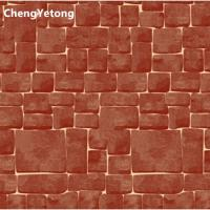 PVDF Coating Pre Coated Metal Sheets , Wall Brick Grain PPGI Color Coated Sheets Manufactures