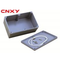 China RoHS Standard Aluminum Electrical Junction Boxes CNC Machine Sealing on sale