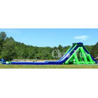 Inflatable Big Pool Slide Water Park Combination Slide Manufactures