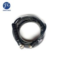 Male To Male Rear View Camera Cable , 4 Pin Rear Backup Plug Aviation Reversing Camera Trailer Cable Manufactures