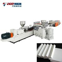 PVC WPC Crust Foam Foam Board Production Line For Build Template Machinery Manufactures