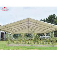 China Metal Frame Outdoor Event Tent , 20m Width Large Glass Walls Decagonal Wedding Marquee Tent on sale
