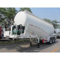 33000L  Steel Powder Tanker Semi-Trailer with 3 axles for 30 Tons Cement Powder   9333GSN Manufactures