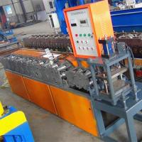 Rolling Shutter Roll Forming Machine / Door Frame Making Machine With Different Colors Manufactures