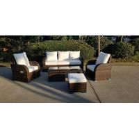 KD Furniture Rattan Outdoor Sofa Set Adjustable Back Rest Single Sofa Manufactures
