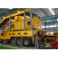 Wheel Type Mobile Stone Crusher Machine Energy Conservation For Building for sale