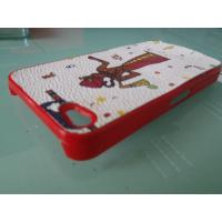 Colorful Cell Phone Protection Case, Apple iPhone 4 Protective Skin Cases / Covers Manufactures