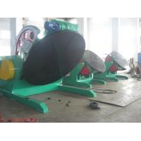 Automatic Tilting Welding Positioner Turntable 20T For Pipe / Tank Manufactures