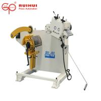 Roller Coil Straightening Machine With Uncoiler To Make Coil Feeding Well(RGL-400) Manufactures