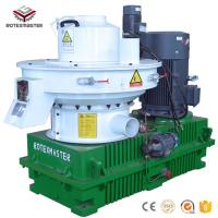 China Factory price 1-1.5t/h wood biomass pellet making machine for Asia Market on sale