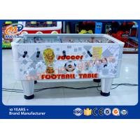 China Easy Operation Arcade Game Machines Table Soccer Game With Electronic Scoring on sale